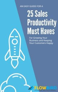 25 Sales Productivity Must Haves Home/Resources