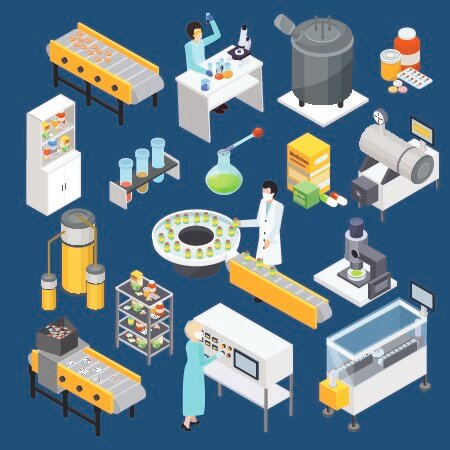 pharmaceutical manufacturing processes